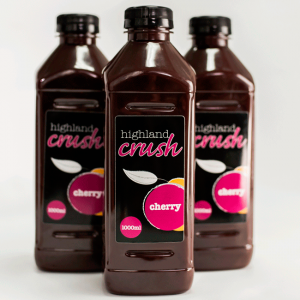 Highland Crush Cherry 1000ml bottles